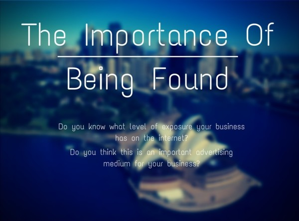 The Importance of Being Found